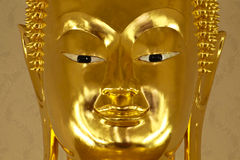 Buddha image's face Stock Photos