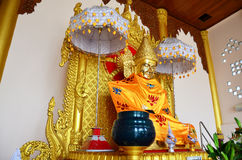 Buddha Image Statue Burma Style Of Botataung Pagoda Stock Photography