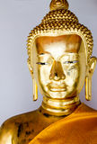 Buddha image statue_1. Thai temple golden buddha image in wat pho Stock Photos