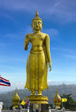 Buddha image staue in Hatyai Royalty Free Stock Photo