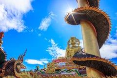 Buddha image style. Surrounded by many Naka Royalty Free Stock Image