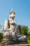 Buddha image at Sukhothai Historical Park Royalty Free Stock Images