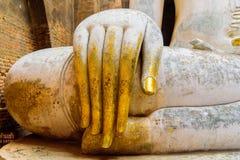 The Buddha image. The Buddha image in Sukhothai Historical Park, Thailand Royalty Free Stock Images