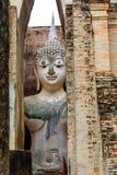 The Buddha image. The Buddha image in Sukhothai Historical Park, Thailand Stock Photos