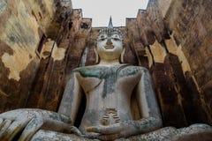 The Buddha image. The Buddha image in Sukhothai Historical Park, Thailand Stock Image