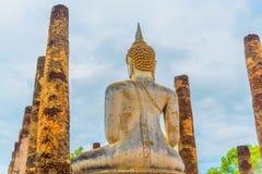 The Buddha image. The Buddha image in Sukhothai Historical Park, Thailand Royalty Free Stock Image