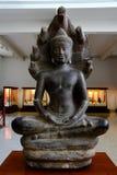 Buddha image from 13th century Stock Photos