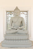 Buddha image in Thai temple. Style rock engraving Stock Photography