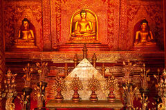 Buddha image in Thailand Stock Photography