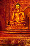 Buddha image in Thailand Royalty Free Stock Images