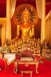 Buddha image in Thailand Stock Photo
