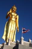 Buddha image, Thailand. Buddha image and blue sky in sunny day Stock Image