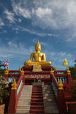 Buddha Image, Thailand. A golden buddha image in Thailand Royalty Free Stock Image