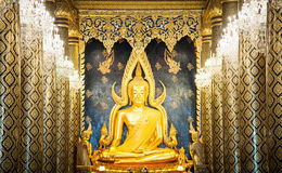 Buddha image in Thailand. This is the buddha image in Phitsanulok, Thailand Stock Photography