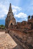Buddha image of Wat Chai Wattanaram Ayuthaya Thailand Royalty Free Stock Image