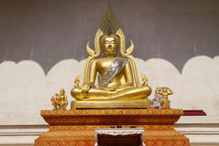 Buddha image  at Wat Jadi Luang in Chiangmai, Thailand Stock Photos