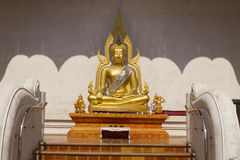 Buddha image  at Wat Jadi Luang in Chiangmai, Thailand Stock Images