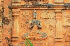 Buddha Image At Wat Jed Yod, Chiang Mai, Thailand royalty free stock image