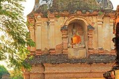 Buddha Image At Wat Jed Yod, Chiang Mai, Thailand stock photos
