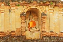 Buddha Image At Wat Jed Yod, Chiang Mai, Thailand royalty free stock photography