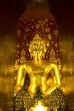 Buddha image at Wat Pa Dara Phirom, Chiang Mai Thailand Stock Photo