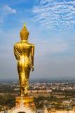 Buddha image at Wat Phra That Khao Noi Stock Photography