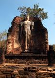 Buddha image in Wat Phra Si Iriyabot, Thailand Royalty Free Stock Photos