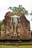 Buddha Image in Wat Phra Si lriyabot at Kamphaeng. Phet Historical Park, Kamphaeng Phet Province, Thailand Stock Images