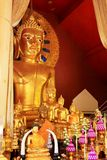 Buddha Image In Wat Phra Singh, Chiang Mai, Thailand Stock Photography
