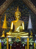 Buddha image in Wat Suan Dok, Chiang Mai Stock Photos