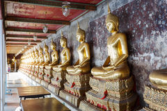Buddha Image in Wat Suthat Stock Images