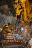 Buddha Images in Pindaya Cave - Pindaya - Myanmar Stock Images