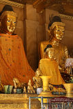 Buddha Images - Shwedagon Pagoda - Yangon - Myanmar stock photo