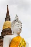 Buddha images taken at Wat Yai Chaimongkol. Wat Yai Chaimongkol  in ayutthaya province Thailand Stock Image