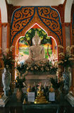Buddha images at a temple in Thailand Stock Image