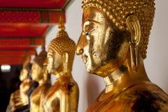 Buddha images. Wat Pho, Bangkok, Thailand. Stock Images
