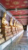 Buddha Images at Wat Suthat Stock Photo