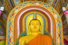 Free Buddha In Bandarawela Buddhist Temple On Sri Lanka Royalty Free Stock Image - 115242476