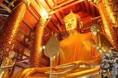 Buddha In Thailand. Stock Photo