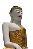 Buddha isolated. Isolated busshist statue royalty free stock images