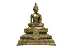 Buddha isolated against white background Stock Image