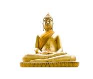 buddha isolatestaty Arkivbild