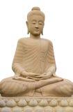 Buddha, isolato Fotografie Stock