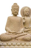Buddha, isolato Fotografia Stock