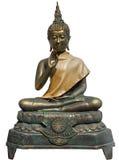 Buddha isolato su fondo bianco Fotografia Stock