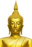 buddha isolerade statyn Arkivfoto