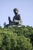 buddha jätte- Hong Kong staty Royaltyfria Foton