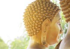 buddha jättehuvud Arkivfoton
