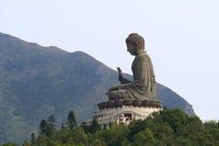 buddha jättesitting Arkivfoton