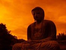 buddha jättestaty Arkivfoto